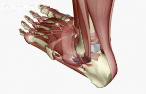 Pijn onder voet